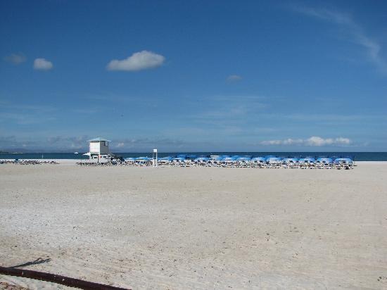 Isla de Coche, Venezuela: vista de la playa desde el hotel