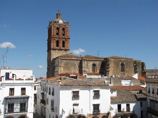 Hotel Los Balcones de Zafra: View from Room # 206