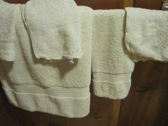 Kelly's Resort on Lake Chelan: the towels