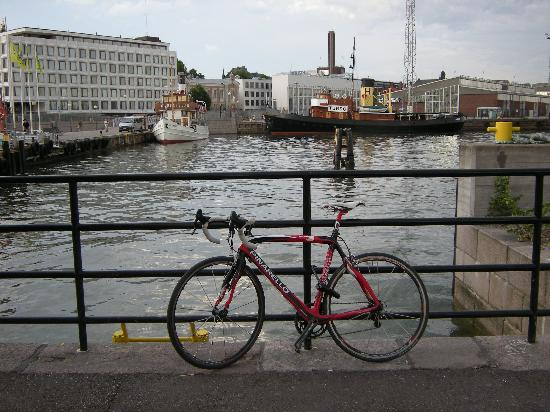 Helsingfors, Finland: Bikes Everywhere