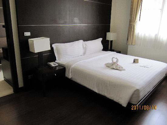 Grand Mercure Bangkok Asoke Residence : 寝室