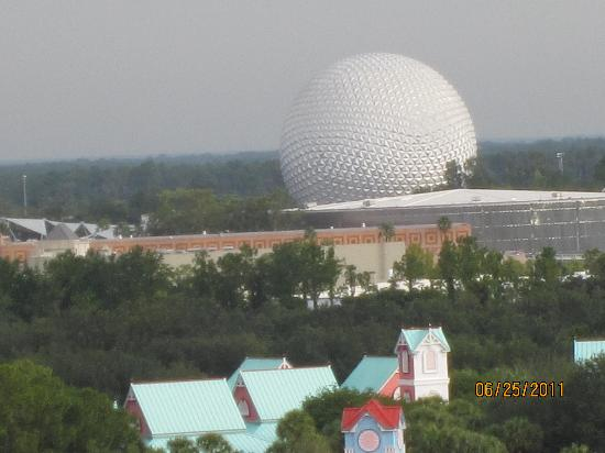 Wyndham Bonnet Creek Resort: Epcot view
