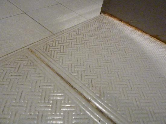 Rumah Mertua: moldy bathroom floor