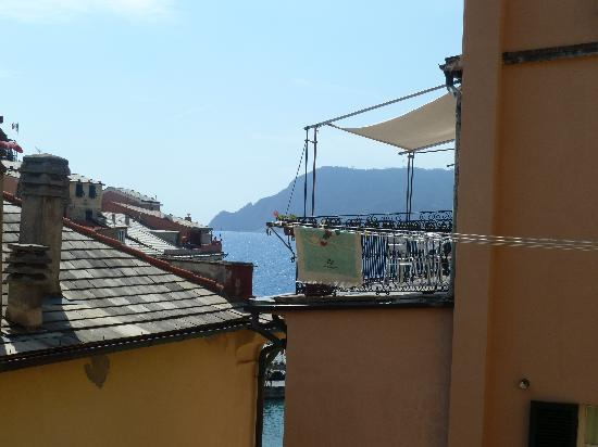 Il Pirata Rooms : View from outside