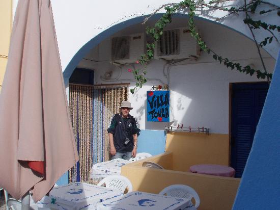 Villa Toula: donde desayunas e ingresas al hospedaje