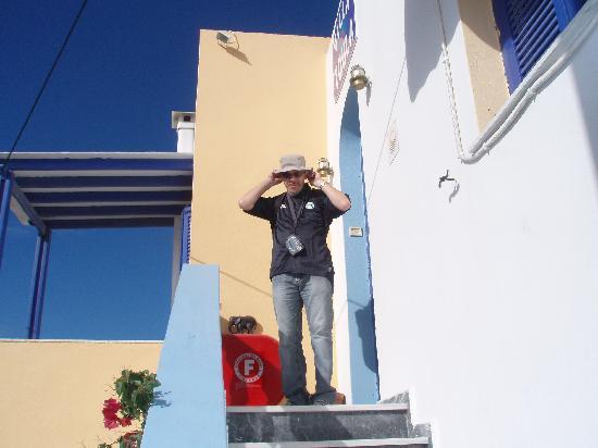 Villa Toula: saliendo de la habitacion
