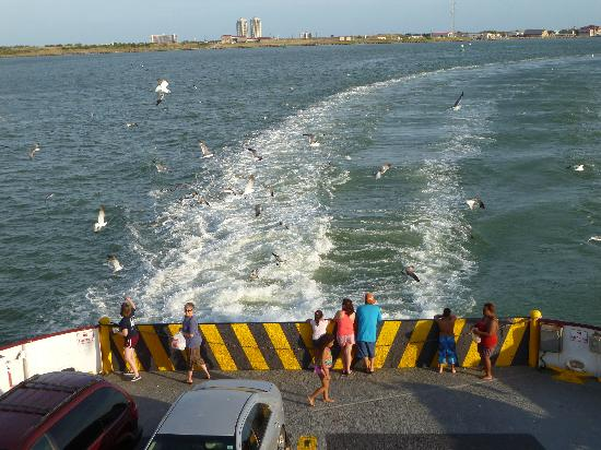Galveston - Port Bolivar Ferry : View from the back