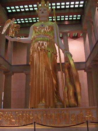Centennial Park: Athena