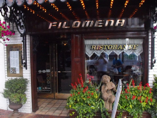 Filomena Georgetown Restaurant Week Menu