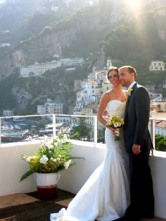 On the Terrace where we got married
