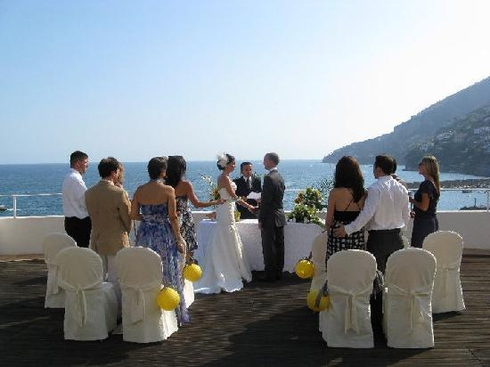 Hotel Marina Riviera: Wedding Ceremony