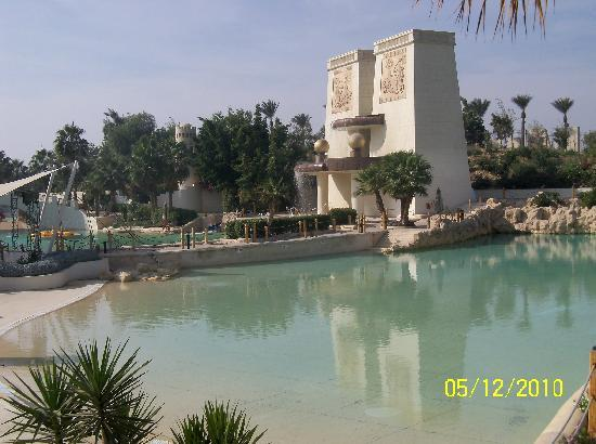 JW Marriott Hotel Cairo: man-made beach