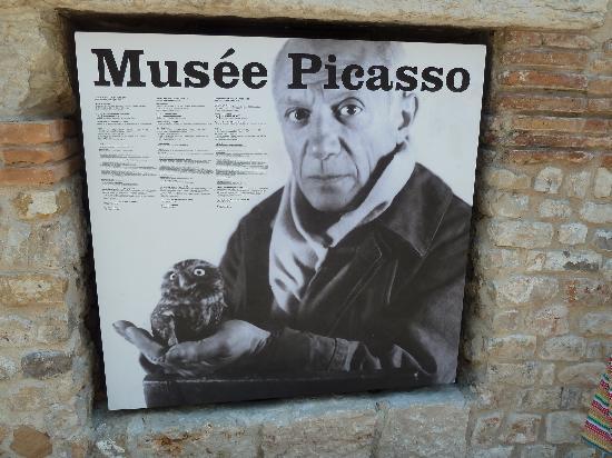 Musée Picasso: Plakat