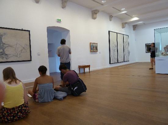 Musée Picasso: Saal