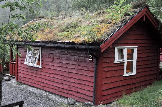 Cabin seen from outside