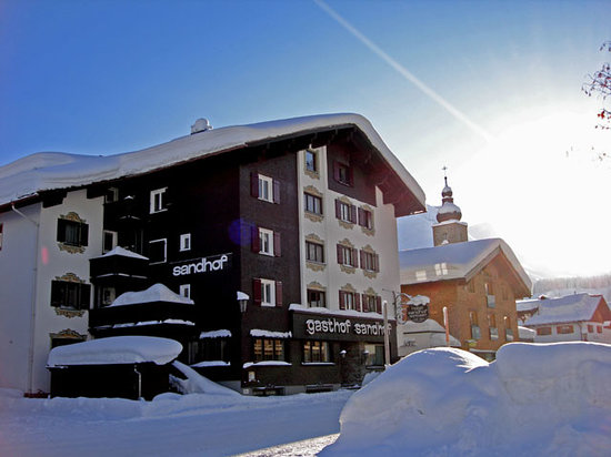 Hotel Sandhof, Lech - right in the centre of Lech