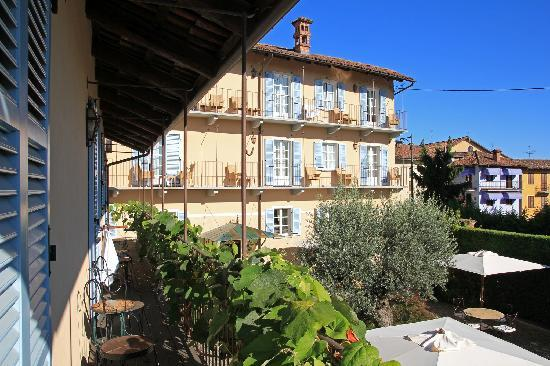 Corte Gondina Boutique Hotel : view from balcony