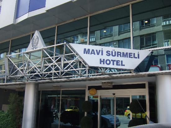 Hotel Mavi Surmeli: ホテル入口