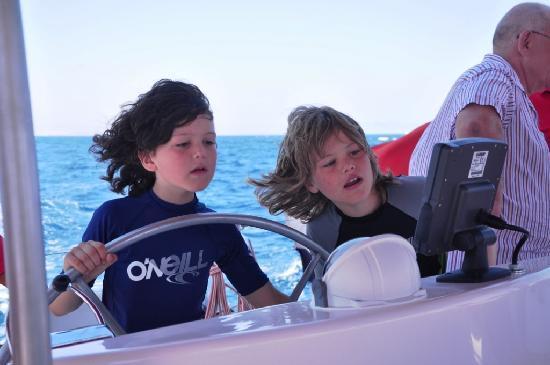 Ocean Diva Catamaran Sailing Cruises: Young captains