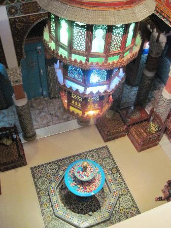 Moroccan House Hotel: The entrance hall