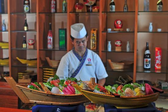 Sokha Angkor Resort: Japanese Food