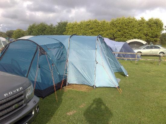 Perran Springs Holiday Park: Our Pitch