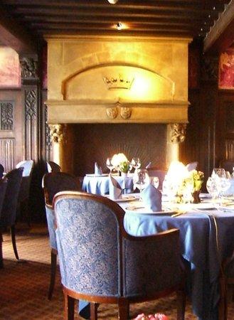 Restaurant La Couronne: Intérieur - 1e étage
