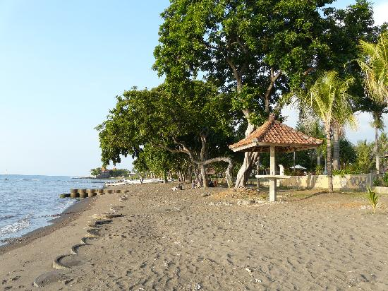 Puri Saron Hotel Baruna Beach Cottages Bali: Playa