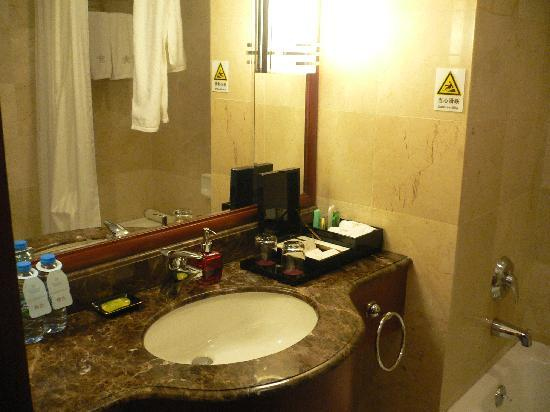 The Pavilion Hotel: Nice washroom