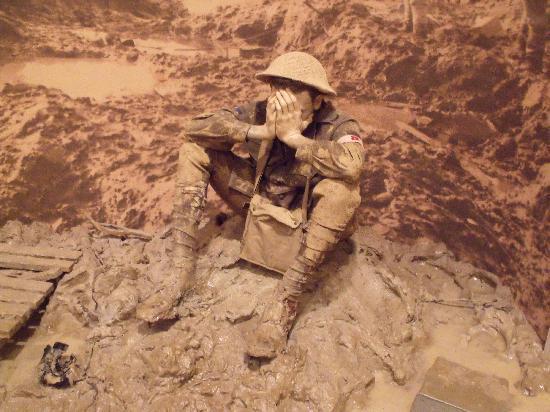Australian War Memorial: Man in the Mud