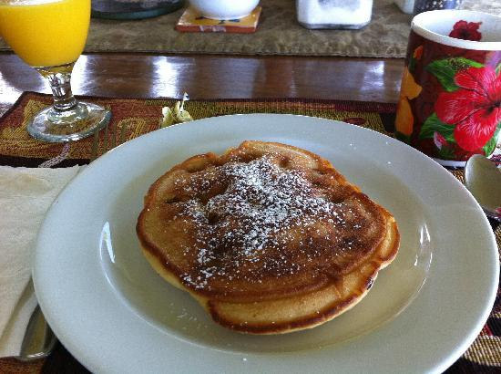 Lilikoi Inn: Desayuno en Lilioi Inn