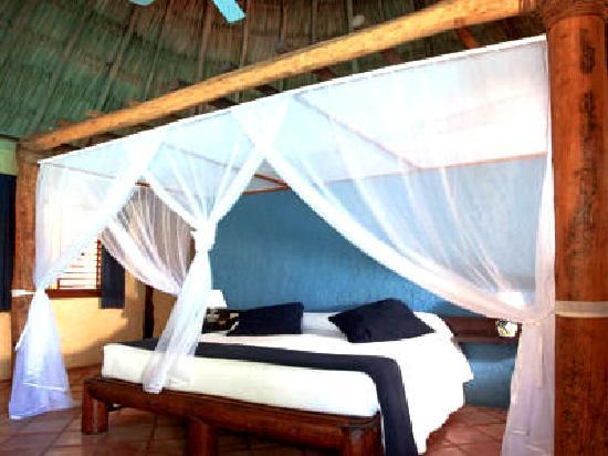 Xaloc Resort: interior de las cabañas