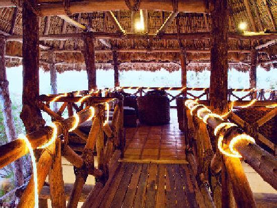 Xaloc Resort: sala común con vistas al mar