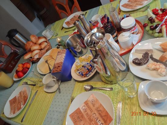 Bed and Breakfast Zeevat: breakfast