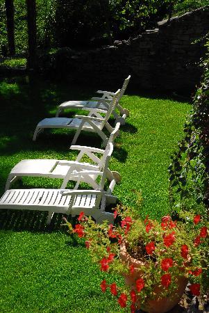 T3e Terre: Hotel garden