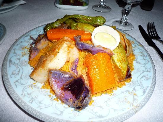 Dar Hamouda Pacha : couscous végétarien