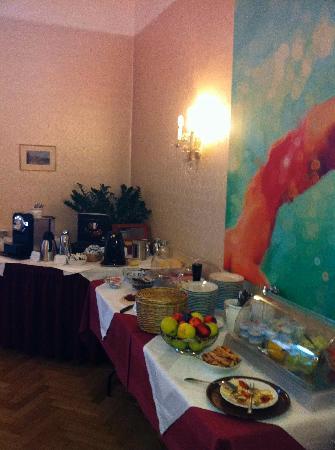 Hotel Pension Museum: Frühstücksbuffet