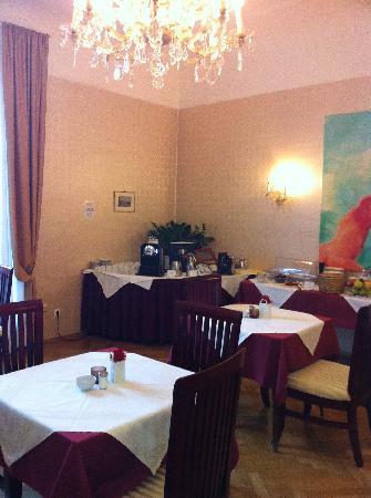 Hotel Pension Museum: Frühstücksraum