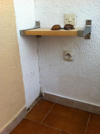 Hotel La Parenthese : chambre