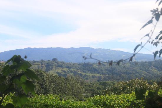 Vista Linda Montaña: Ausblick zum Vulkan Poás