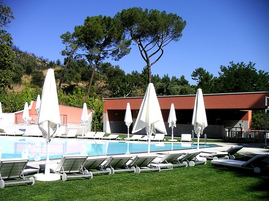 Vidago Palace Hotel: Pool u. Bar