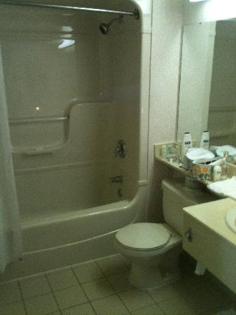 Quality Hotel Harbourview: Bathroom