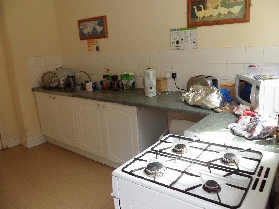 Amhurst Hotel : La cocina