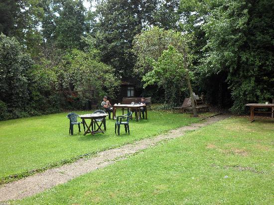 Amhurst Hotel : El jardin