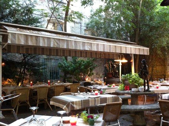 Terrasse ombragée mal entretenue - Photo de LE CLOS SAINT FRONT ...