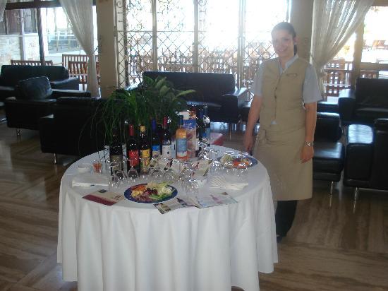 Princess Beach Hotel: Wine tasting (2010)