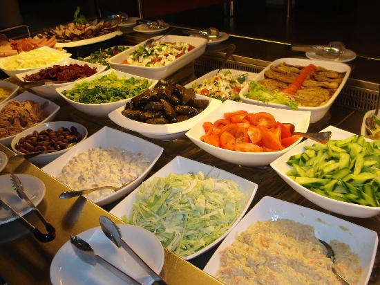 Princess Beach Hotel: Dinner buffet (2010)