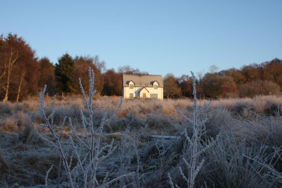 Cruachan B & B: Frosty morning