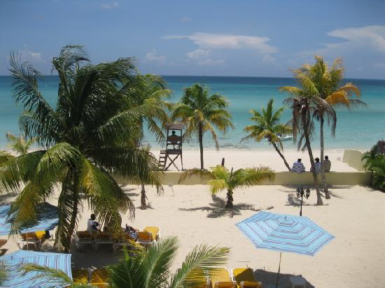 SuperClubs Rooms on the Beach Negril : View from my room