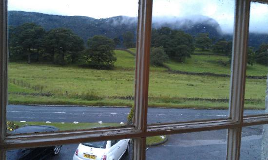 The Kings Head Hotel: View out of one of our windows